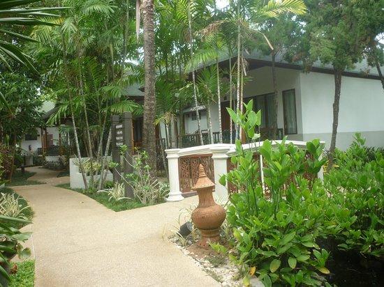 Banana Fan Sea Resort : une autre allée de l'hôtel