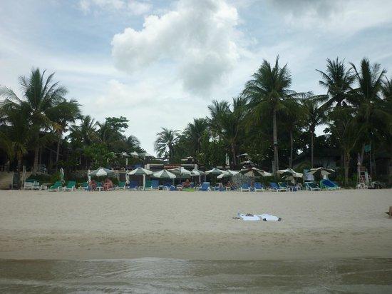 Banana Fan Sea Resort : Hotel vu de la mer