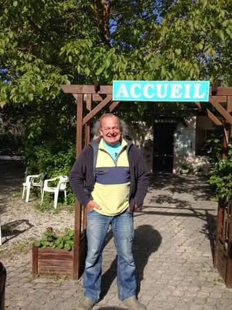 Camping les Lavandes : Il gestore