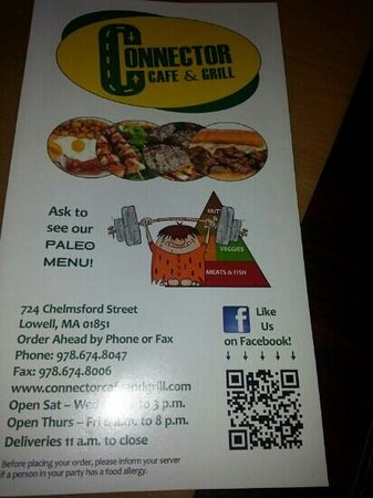 Connector Cafe And Grill Lowell Ma