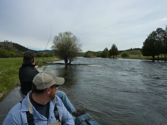The Resort at Paws Up: Fly Fishing