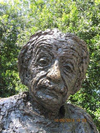 Albert Einstein Memorial: Rosto