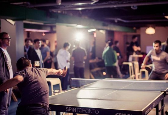 SPiN Toronto : Get your pong on