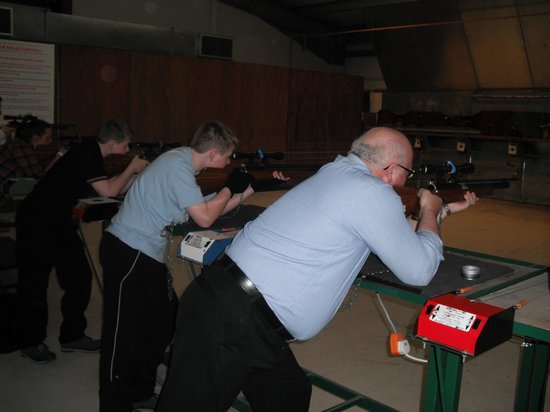 Cluny Activities: rifle