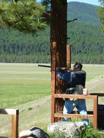 The Resort at Paws Up: Sporting clays
