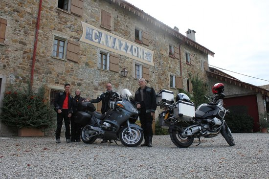 Agriturismo Cavazzone: Met de motor naar Toscane