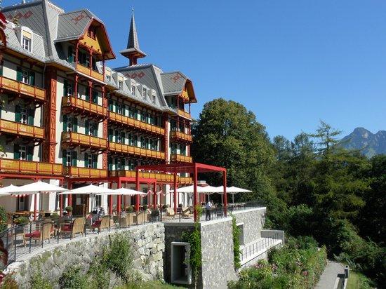 Jugendstilhotel Hotel Paxmontana: Vue de l'hôtel, côté réception