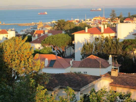Hotel Cidadela: Taken from the balcony of room 544.