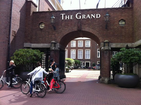 Sofitel Legend The Grand Amsterdam: Enterance
