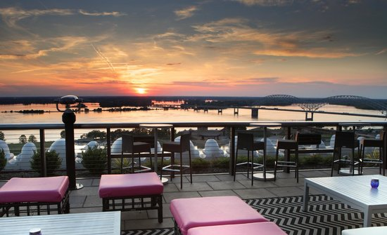 Madison Hotel : Twilight Roof Top Terrace