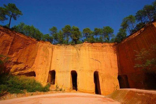 Domaine les Chênes Blancs : Les mines de Gargas