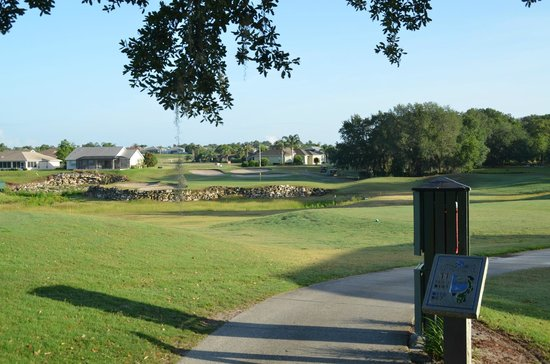 Stonecrest Country Club: One of the PAr Threes.