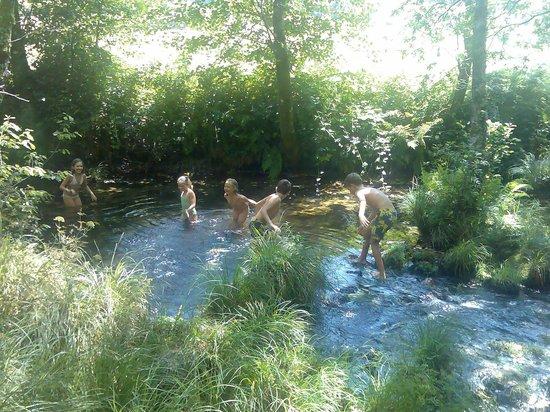 Casa Rural Vilalen: Chapuzón en el río