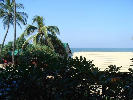 Hotel Sunset Beach: Udsigten fra vores altan