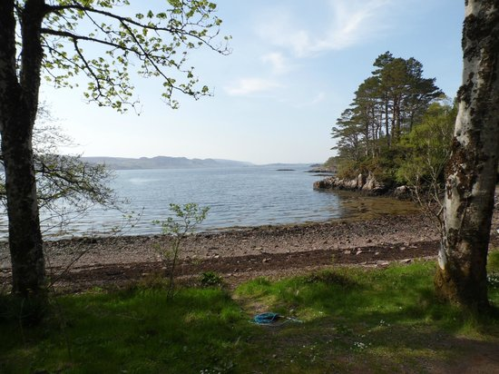 Inverewe Garden: one of the bay views !