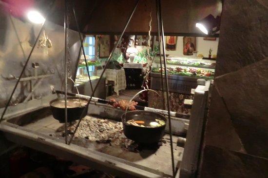 Manastirska Magernitza: Grill