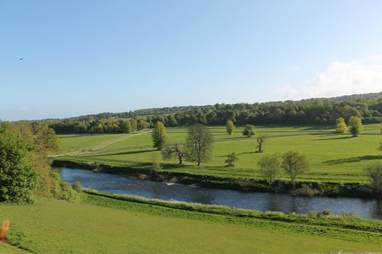 Mount Juliet Estate: View from our room
