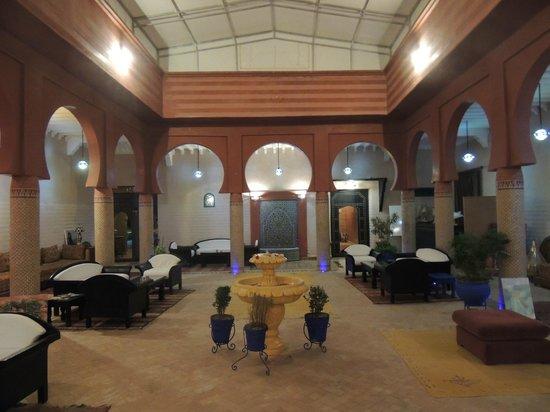 Hotel Riad Berbere : Patio