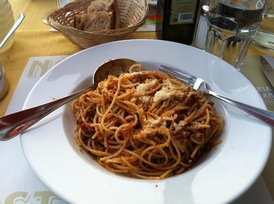 Osteria Nostrana: Add a caption