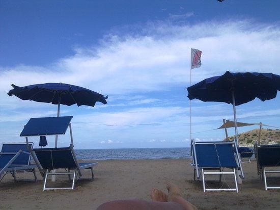 Hotel Portonuovo: La spiaggia