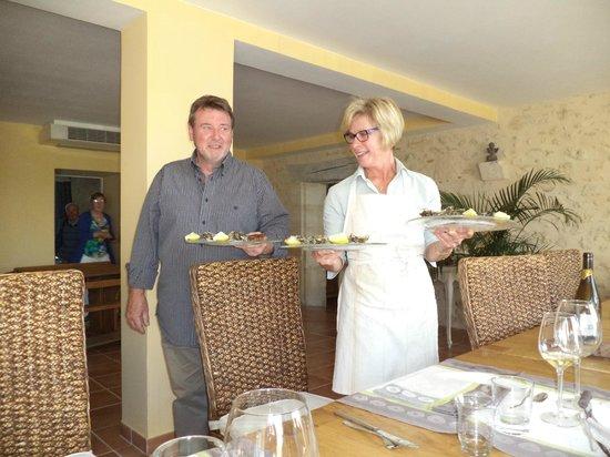 Domaine du Mayne: Marc en Martine, de perfecte gastheer en gastvrouw