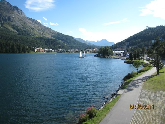 Hotel Steffani: the lake
