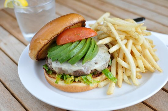 Avocado & Smoked Tomato Burger - Picture of Big Jim's BBQ ...