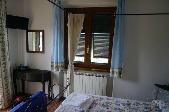Il Vecchio Noce: the room