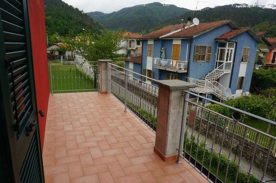 Il Vecchio Noce: the balcony