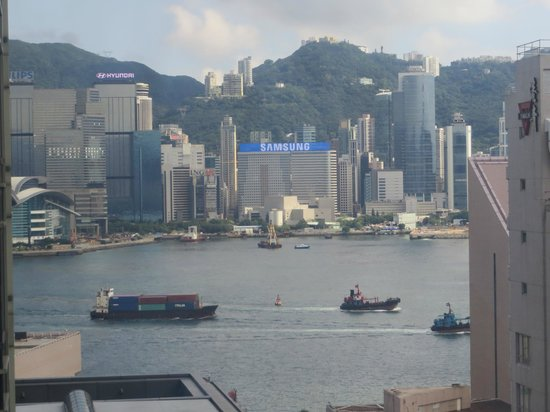 The Kowloon Hotel: View from hotel room