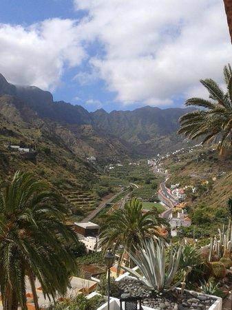 Ibo Alfaro Hotel Rural: vista desde el hotel hacia el parque de Garajonay