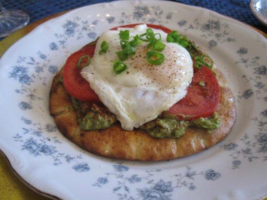 Futrell House Bed & Breakfast: Breakfast entree
