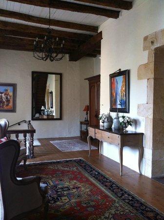 Le Prieure du Chateau de Biron : pallier