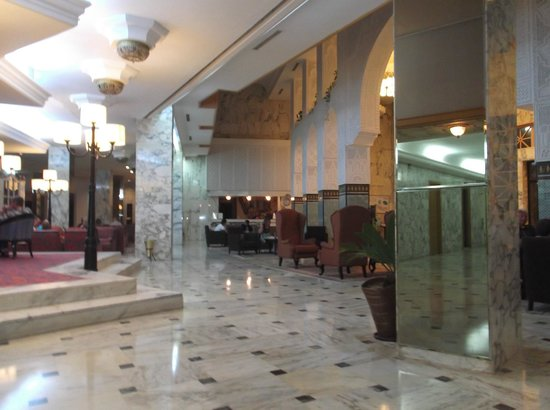 Hotel Marhaba Beach: reception area