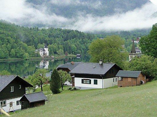 Hotel Backenstein: Der Blick zum See ( vom Zimmerfenster )