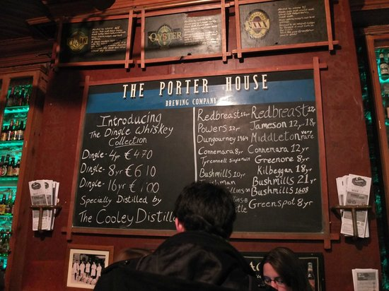 The Porterhouse Brewing Company : Porterhouse