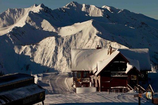 Eagle's Eye Restaurant - Kicking Horse Mountain Resort: Eagles's Eye Winter