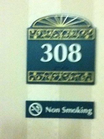 Hilton Garden Inn Anaheim/Garden Grove: Room Number