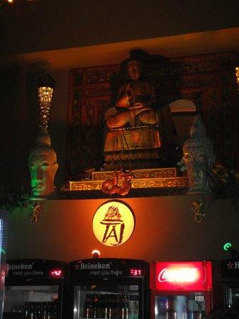 Taj Bar: Área do bar