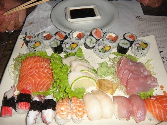 Taj Bar: A apresentacao do prato