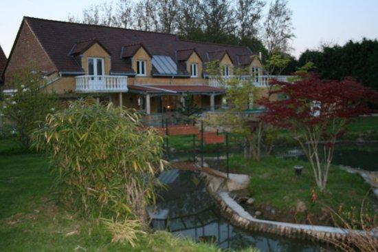 Ghislenghien, Belgia: Le jardin