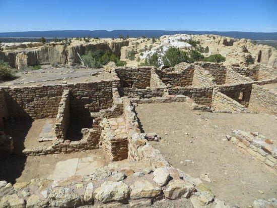 Ramah, นิวเม็กซิโก: Pueblo Indian ruins