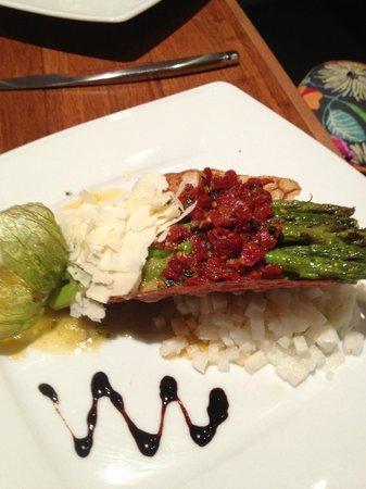 Justin's: tempura asparagus