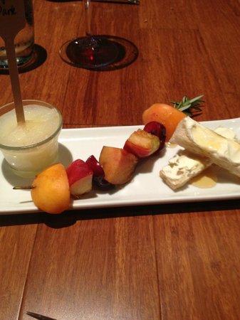 Justin's : artisanal dessert platter