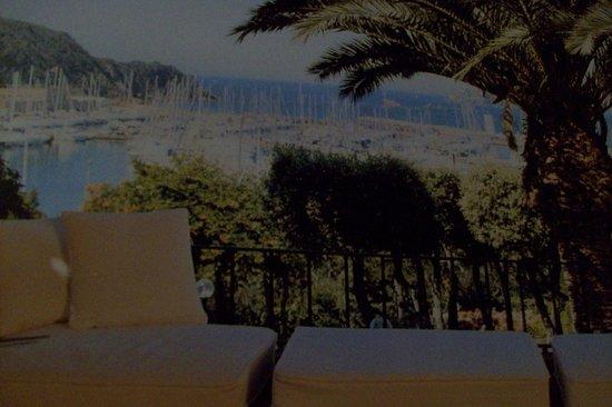 Baglioni Resort Cala del Porto: salatto con panorama