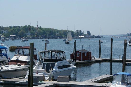 Cedar Crest Inn: Baie de Bootbay Harbor
