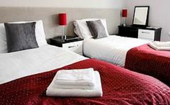 Comrie Hotel: Twin room