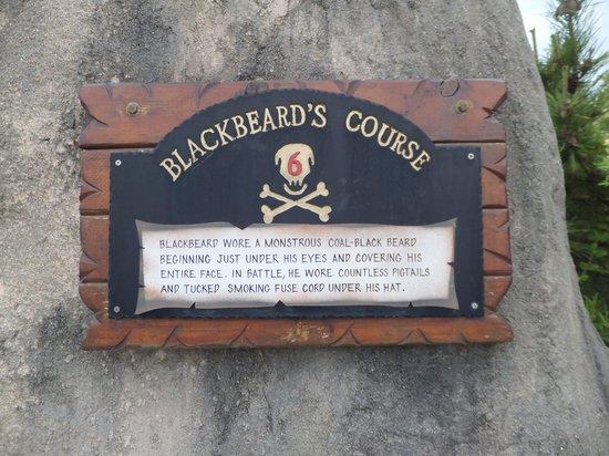 Pirate's Cove Adventure Golf : Blackbeard's course