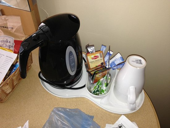 Radisson Blu Scandinavia Hotel, Gothenburg: Free tea and coffee making facilities in the room