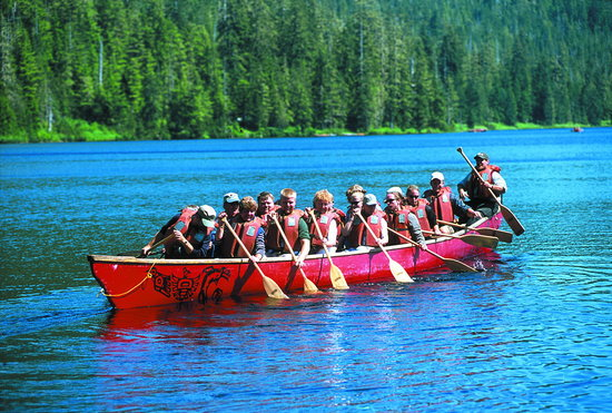 Best of Alaska Rain Forest Canoe Adventure & Nature Trail